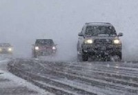 بارش باران و برف در محورهای مواصلاتی قزوین تا ساعاتی دیگر