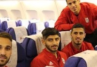 تیم ملی فوتبال به قطر رسید