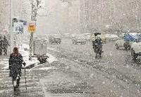 اخطاریه هواشناسی؛ بارش برف در تهران و ۱۰ استان دیگر
