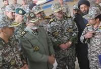 بازدید فرمانده کل ارتش از منطقه پدافند هوایی شمال شرق