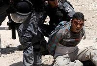 بازداشت ۲۴ فلسطینی در کرانه باختری و قدس اشغالی