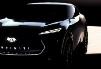 Infiniti teases upcoming EV platform with shadowed crossover image