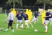 برگزاری تمرین تیم ملی فوتبال در نوبت عصر + تصاویر