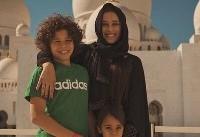 ظاهر متفاوت همسران بازیکنان رئال مادرید در مسجد شیخ زاید + تصاویر