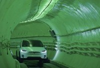 Elon Musk bores tunnel to revolutionize city driving