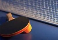 ایران قهرمان مسابقات تنیس روی میز صلح و دوستی شد