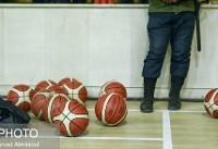 بلاتکلیفی خبرنگاران در سالن بسکتبال!