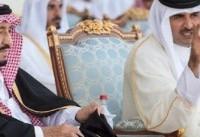 پادشاه سعودی از امیر قطر برای سفر به عربستان دعوت کرد
