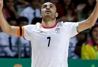 نخستین پیروزی فوتسال ایران مقابل رقیب سنتی