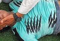 درگذشت فوتبالیست سابق استقلال اهواز در میدان مسابقه (عکس)