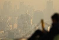 هوای تهران برای گروههای حساس، ناسالم است