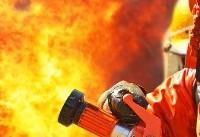 آتش سوزی گسترده در مجتمع تجاری رز مال / محبوس شدن ده نفر در ساختمان