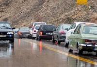 تمام محورهای کشور بدون ترافیک /برف در آذربایجان غربی و هراز/ ۹ استان میزبان باران