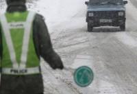 جاده های ۸ استان برفی و بارانی