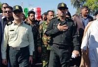 تشییع پیکر ۲ شهید حادثه تروریستی چابهار