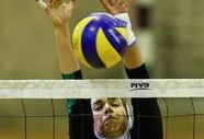 دیدار تیمهای والیبال بانوان ذوب آهن اصفهان و مبنا تجارت کاسپین