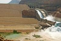 سیلاب پنج هزار مترمکعبی کارون در سد گتوند آرام گرفت