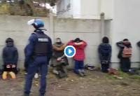 اعتراضهای فرانسه: دانش آموزان فرانسوی توسط پلیس 'تحقیر شدند'