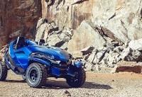 کوهنوردی با خودروی شش چرخ! (+عکس)