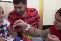 جستجوی جهانی برای گروه خون نادر یک دختر نوپا