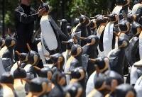 میدانی از صدها مجسمهی پنگوئن در شیلی+عکس
