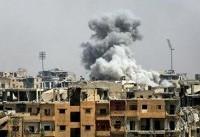 حمله جنگنده های ائتلاف آمریکا به یک بیمارستان محلی در هجین سوریه