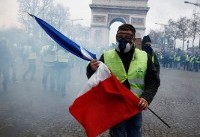 PHOTOS: 4th consecutive Saturday of anti-government protests in Paris