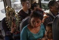 Seeking asylum, migrants report being turned back at — or possibly just past — U.S. border