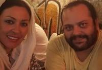 پیام صابری بازیگر و همسر زیبا بروفه درگذشت