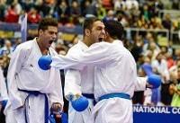 نایب قهرمانی ایران در کاراتهوان سریA چین