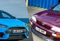 Why you should buy an Escort Cosworth over a Ford Focus RS