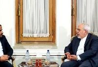 سخنگوی شبهنظامیان حوثی یمن با وزیر خارجه ایران دیدار و گفتگو کرد