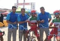 گنج خانلو مدال نقره استقامت جاده را گرفت/سومین مدال برای ایران