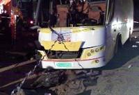 آخرین وضعیت مصدومان حادثه واژگونی اتوبوس در محور فردوس