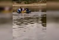 ناپدید شدن مهاجران هنگام عبور از رودخانه ای در ترکیه