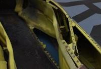 برخورد صاعقه با بمب افکن «ب-۵۲» آمریکا+عکس