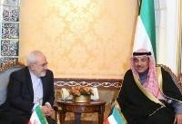 دیدار وزیران امور خارجه ایران و کویت