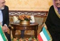 رایزنی ظریف و همتای کویتی در حاشیه کنفرانس بازسازی عراق/قدردانی خالد الصباح از مشارکت ایران