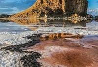 کاهش ۲۵۶ کیلومتر مربع از وسعت دریاچه ارومیه