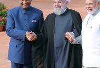 (تصاویر) استقبال رسمی مقامات هند از روحانی