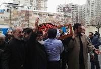 (تصاویر) تشییع پیکر فرزند احمد توکلی