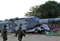 سقوط هلیکوپتر وزیر کشور مکزیک ۱۴ کشته برجای گذاشت