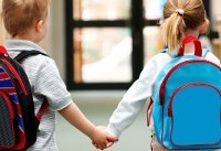 Bulletproof backpacks for children reflect a new reality in America
