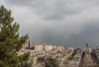 کیفیت هوای تهران در محدوده شرایط سالم و ناسالم برای گروههای حساس