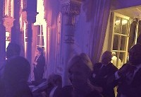 Trump Joins Mar-a-Lago Disco Party After Visiting Survivors Of School Shooting