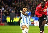 صعود منچستر یونایتد با پیروزی در زمین هادرسفیلد