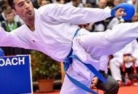 علی فداکار در فینال لیگ جهانی کاراته وان دوبی/ مبارزه ۲ نماینده کاراته بانوان برای کسب مدال برن
