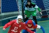 دیدار تیمهای ملی فوتسال زنان ایران و روسیه