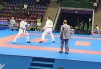 مدال برنز آسیابری و شهرجردی در کاراته وان امارات