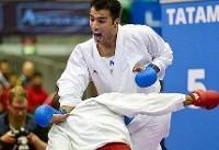 کاراته وان دوبی/ فداکار نقره گرفت، عباسعلی برنز